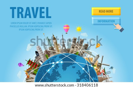 travel famous monuments of the