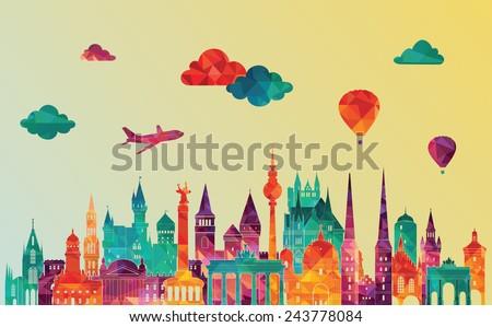 travel germany famous landmarks
