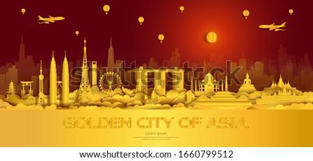 travel gold city landmarks of