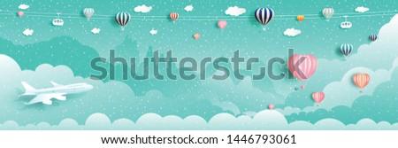 Free balloon wallpaper - Vector Art