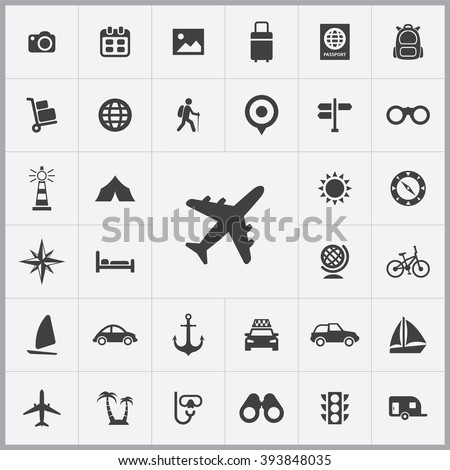 travel icon  travel icon vector