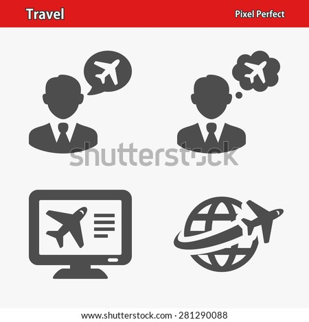 Travel Icons Professional pixel perfect icons optimized for both large and small resolutions EPS 8 format