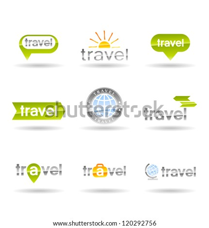 Travel icons set. Vol 1.
