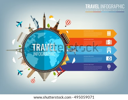 Infographics For Business Web Sites Presentations Advertising Travel And