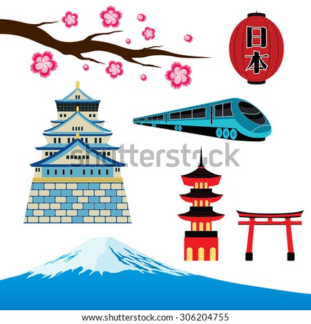 travel japan landmark and