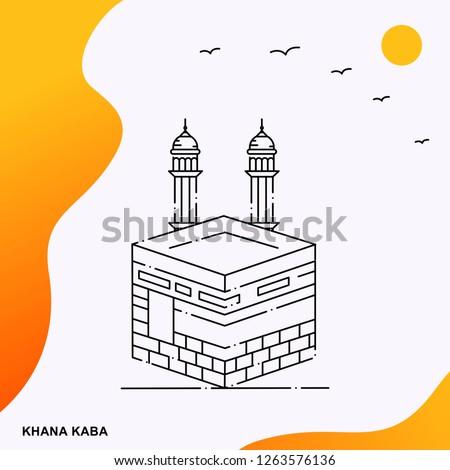 travel khana kaba poster