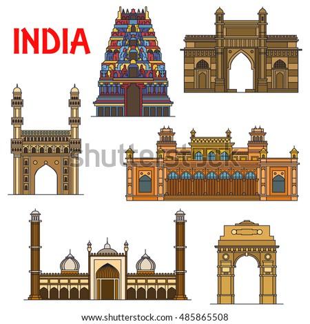 travel landmarks of indian