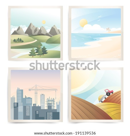 travel landscapes