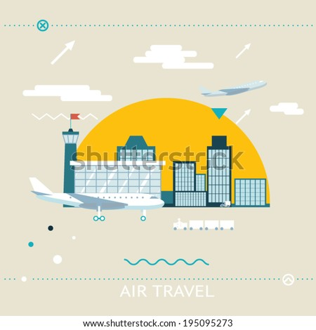 travel lifestyle concept of