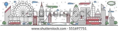 travel london landmark banner