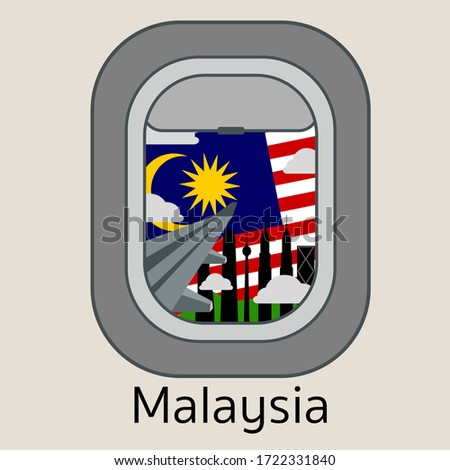 travel malaysia   from a plane