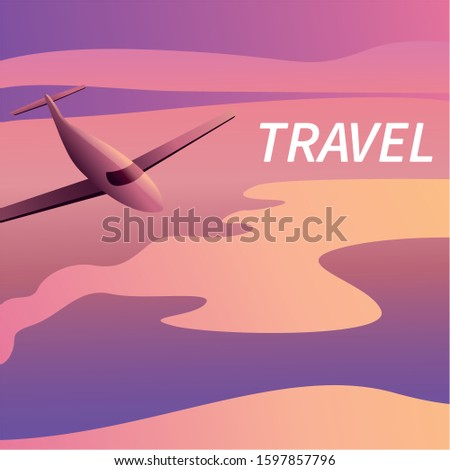 travel on the plane of banners