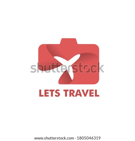 travel photo logo  suitable for