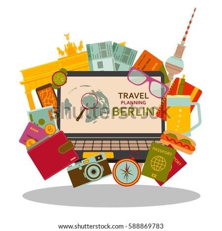 travel planning to berlin flat