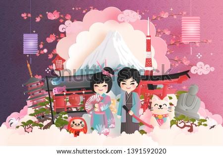travel postcard  poster  tour