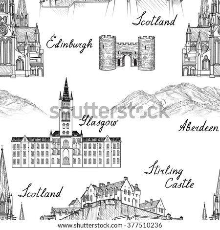 travel scotland famous cities