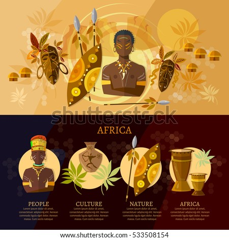 travel to africa infographic