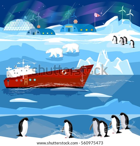 travel to antarctic and arctic