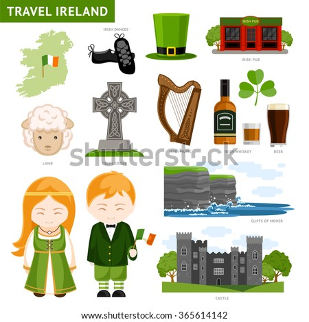 travel to ireland set of