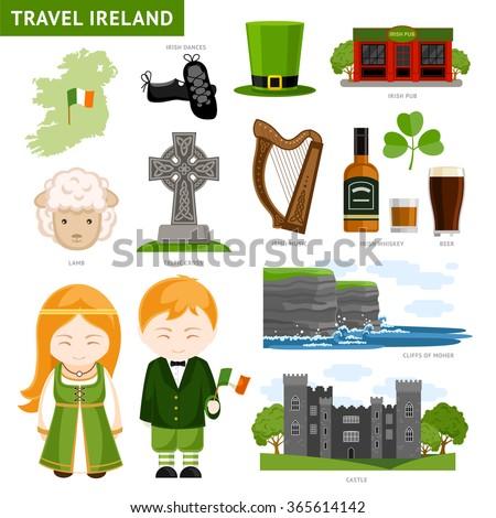 travel to ireland set of