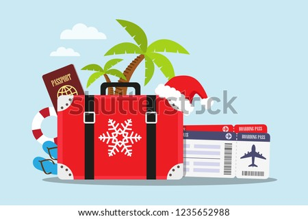 travel to the beach in