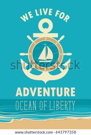 travel vector banner with an...