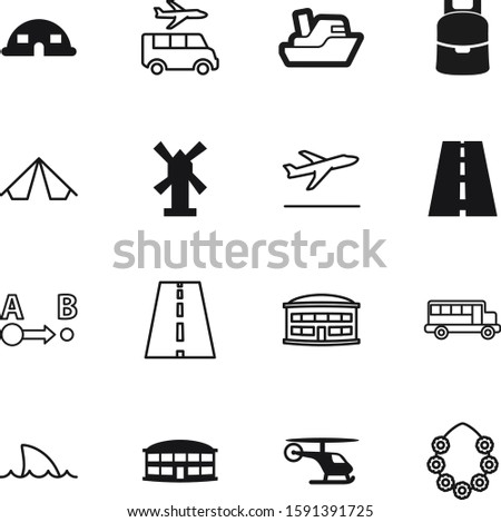 travel vector icon set such as: boat, necklace, pointer, off, dangerous, energy, location, copter, stop, silver, helicopter, start, bag, departure, yacht, vintage, up, shadow, transfer, flour, drawn