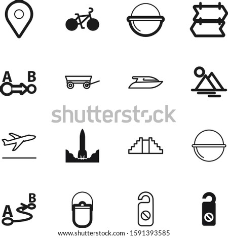 travel vector icon set such as: set, estate, airline, launch, america, aircraft, shopping, aviation, internet, way, hill, race, linear, flight, egypt, speed, travelling, yacht, project, airliner