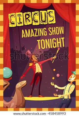 traveling chapiteau circus show