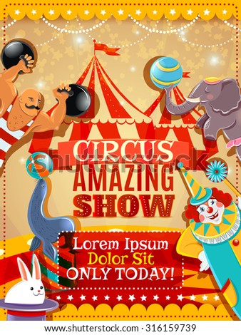 traveling circus amazing show