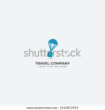 traveling company logo where