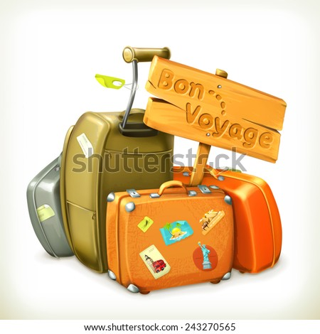 traveling icon  vector
