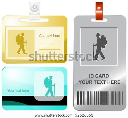 traveller vector id cards