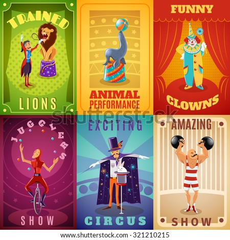 travelling circus amazing show