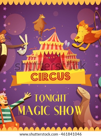 travelling circus magic show