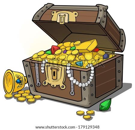 Treasure chest full of...