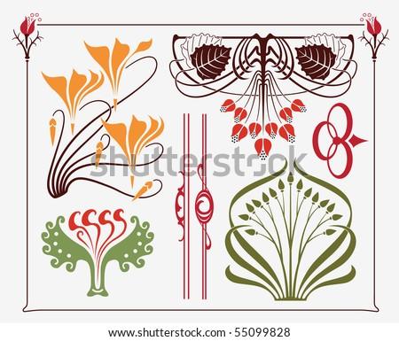 art nouveau tattoo designs. design - art-nouveau