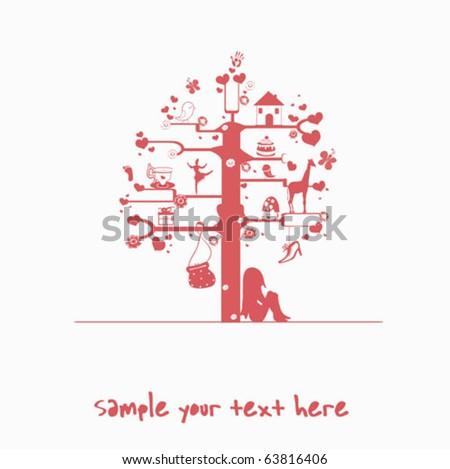 tree - stock vector