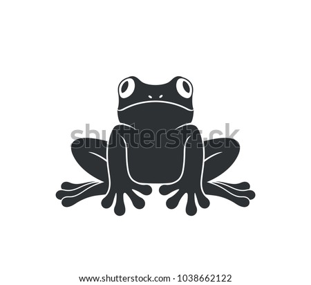 stock-vector-tree-frog-isolated-frog-on-white-background-logo-eps-vector-illustration