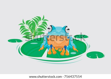 tree frog  wallace