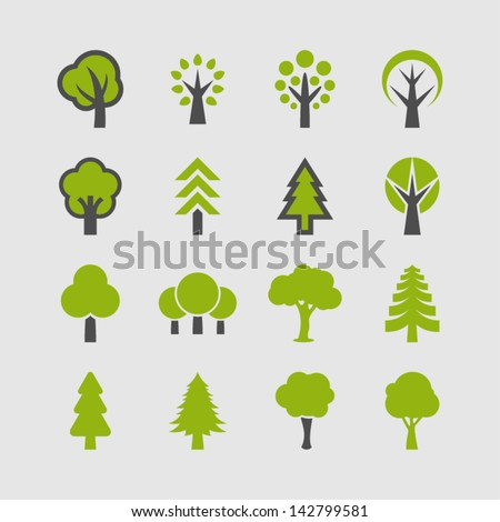 Shutterstock Tree icon