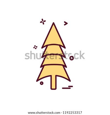 Tree icon design vector #1192253317