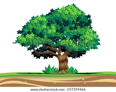 tree in vector