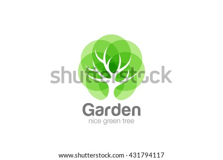 tree logo abstract design