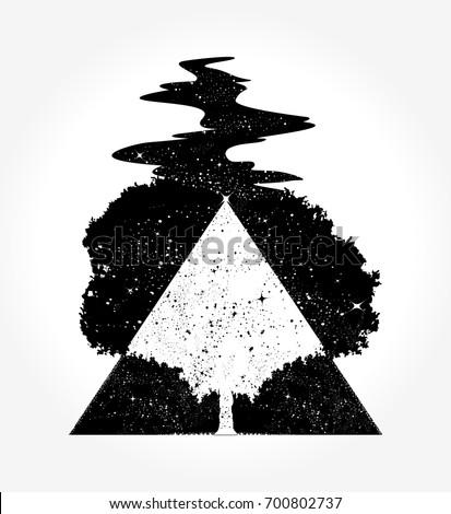 tree magic tattoo and t shirt