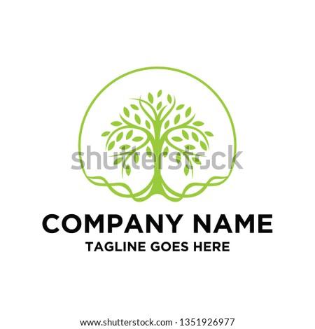 Tree of Life Seal / Emblem logo design inspiration