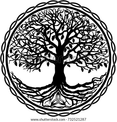 tree of life silhouette