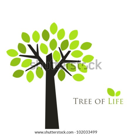 Tree of life. Vector illustration