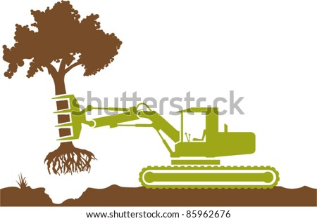 Tree removal vector file