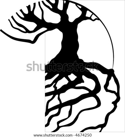 clip art tree black and white. tree clipart black and white
